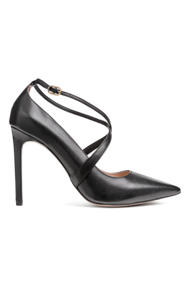 Court shoes - Black/Leather - Ladies | H&M