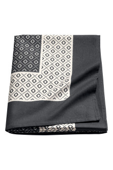 Large cotton tablecloth