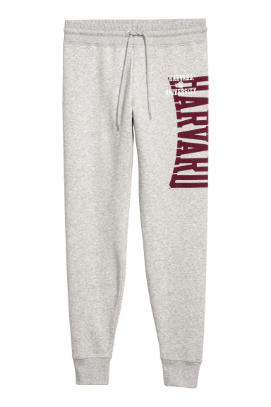 Joggers - Light grey/Harvard - Ladies | H&M