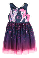 Abito in tulle con paillettes - Viola/My Little Pony - BAMBINO | H&M CH 2