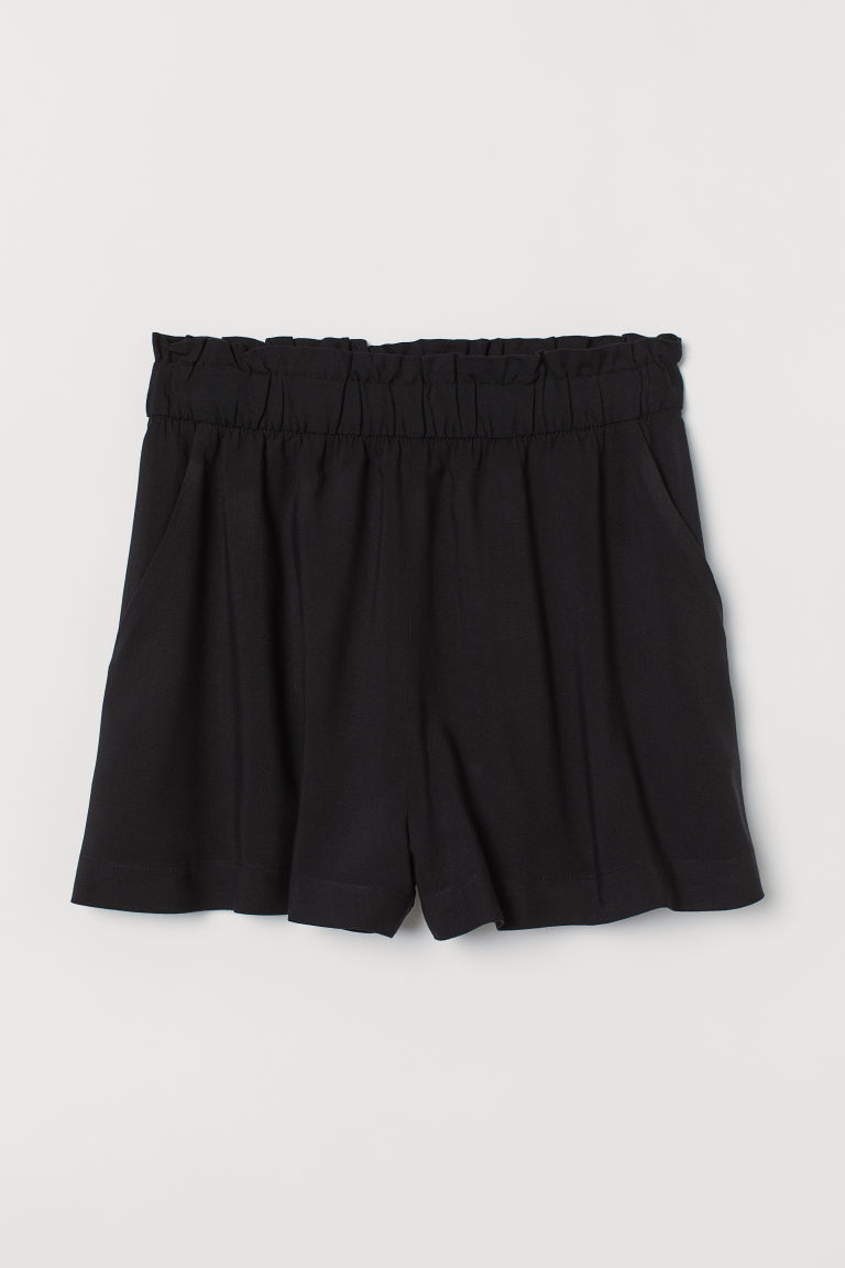Wide shorts - Black - Ladies | H&M GB