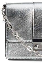 Small shoulder bag - Silver-coloured - Ladies | H&M CN 3