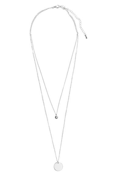 Necklace - Silver-coloured - Ladies | H&M
