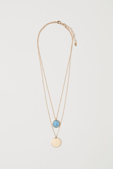 Two-strand necklace - Gold-coloured - Ladies | H&M CN