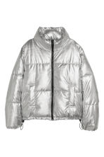Padded jacket - Silver-coloured - Ladies | H&M IE 1