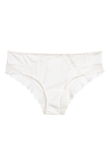 Microfibre hipster briefs - White -  | H&M IE