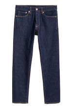 Straight Jeans - Dark denim blue - Men | H&M CN 1