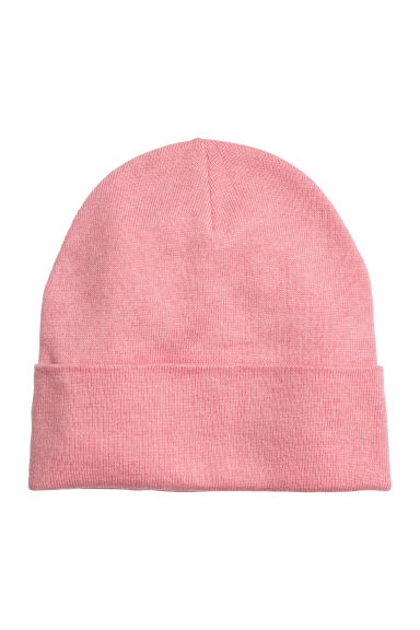 Wool-blend hat - Pink - Ladies | H&M CN