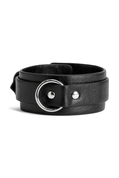 Bracelet - Black - Men | H&M CN