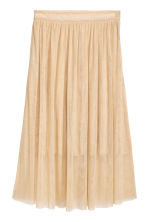 Glittery tulle skirt - Gold-coloured - Ladies | H&M 2
