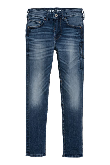 Superstretch Skinny fit Jeans - Denimblauw -  | H&M BE