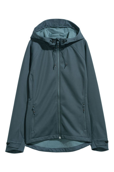 Softshell jacket - Dark turquoise - Ladies | H&M