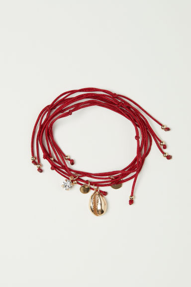 5-pack Bracelets - Red - Ladies | H&M CA