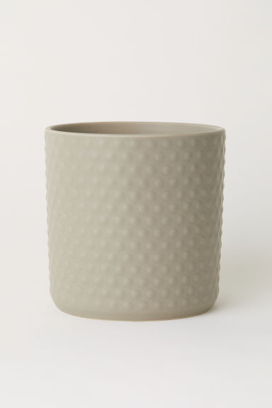 Stoneware plant pot - Mole - Home All | H&M GB