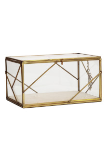 Large Clear Glass Box