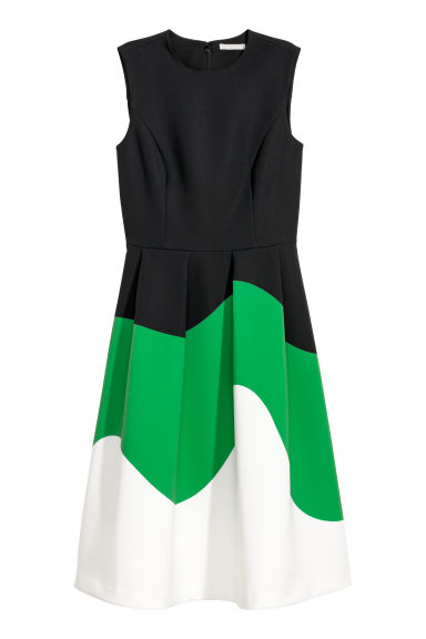 Block-coloured dress - Black - Ladies | H&M IE