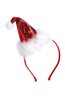 Hairband with Santa Hat