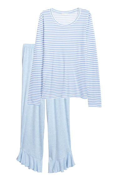 Pyjamas - Light blue - Ladies | H&M
