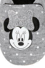 Slippers - Grey marl/Minnie Mouse - Kids | H&M CN 2