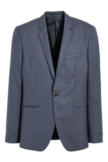 Blazer in lana Slim fit
