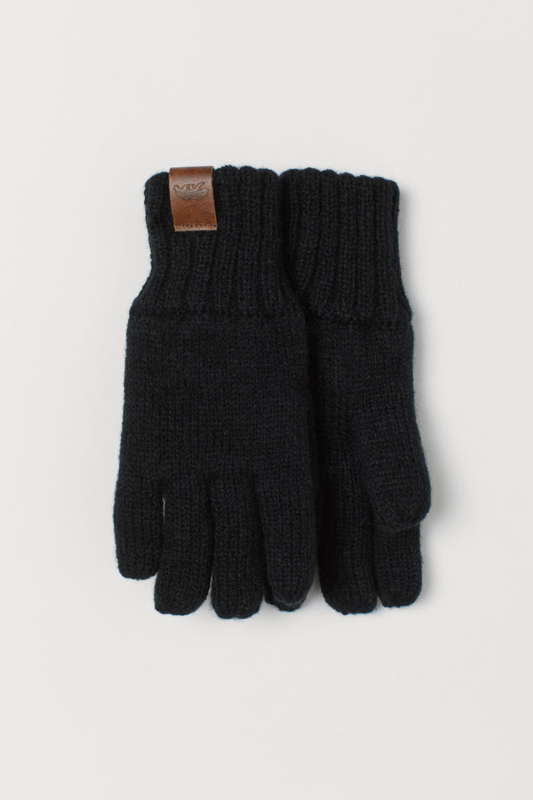 Lined gloves - Black - Kids | H&M GB