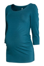 MAMA Jersey top - Petrol blue - Ladies | H&M 2