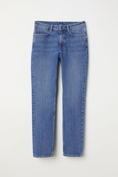Slim Ankle Jeans - デニムブルー -  | H&M JP