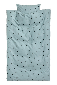 Dotted Duvet Cover Set