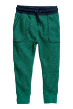 Joggers - Verde scuro mélange - BAMBINO | H&M IT 2
