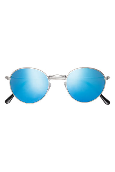 Sunglasses - Silver-coloured/Grey - Men | H&M