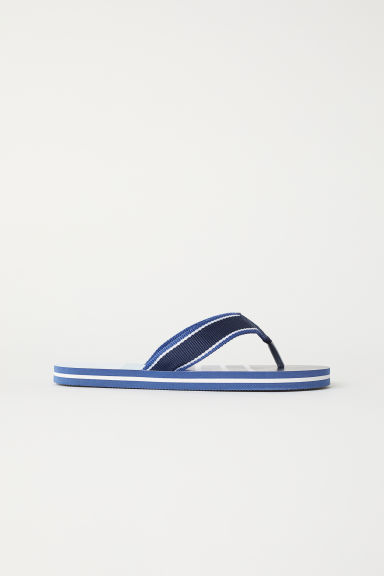 Flip-flops - Dark blue/Light blue - Kids | H&M CN