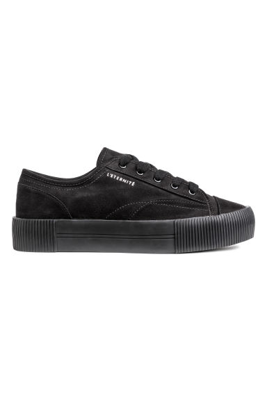 Platform trainers - Black - Ladies | H&M GB