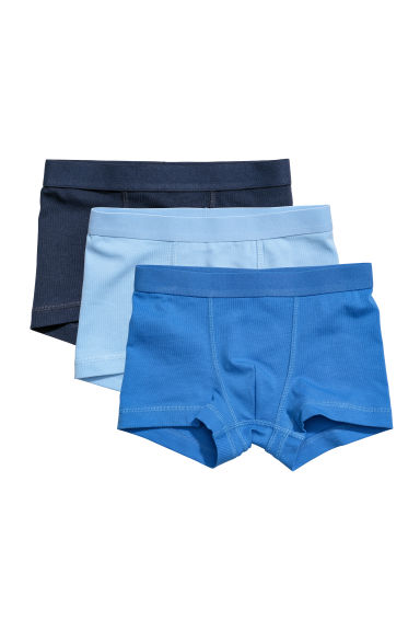 3-pack boxer shorts - Light blue -  | H&M