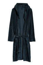 Terry dressing gown - Dark blue - Home All | H&M GB 2