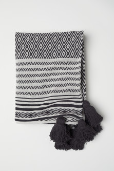 Jacquard-weave Throw