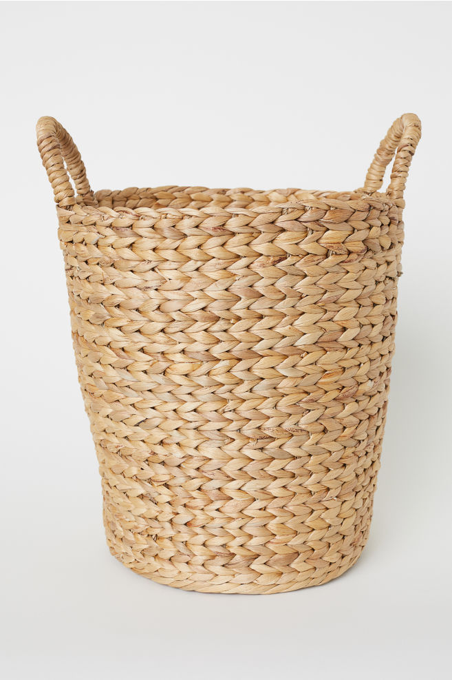 Large Storage Basket - Natural - | H&M US 1