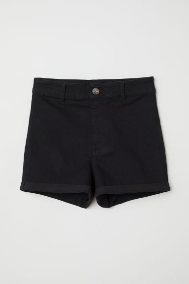 Twill shorts High Waist Model