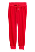 Velours joggers - Rood - DAMES | H&M NL 2