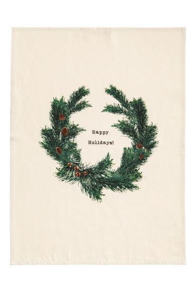 Torchon avec motif de Noël Modèle