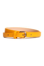 3-pack narrow belts - Yellow - Ladies | H&M IE 2
