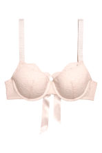Lace balconette bra - Light beige - Ladies | H&M CN 2