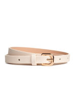 3-pack narrow belts - Yellow - Ladies | H&M IE 3