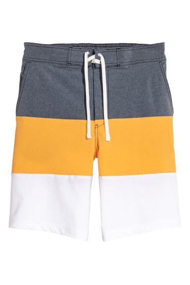 Short de bain long - Jaune/multicolore -  | H&M CH