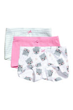 3-pack boxer briefs - Pink - Kids | H&M 1