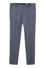 Wool suit trousers Slim fit - Deep blue - Men | H&M IE 2