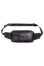Leather waist bag - Black -  | H&M 1
