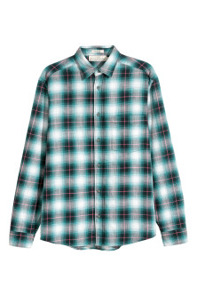 Camisa flammé Regular fit