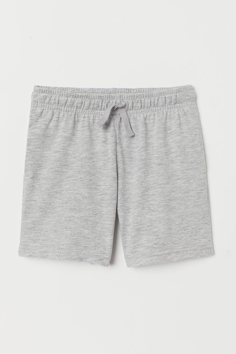 Jersey shorts - Light grey marl - Kids | H&M GB