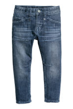 Relaxed Tapered Fit Jeans - Bleu denim - ENFANT | H&M FR 2
