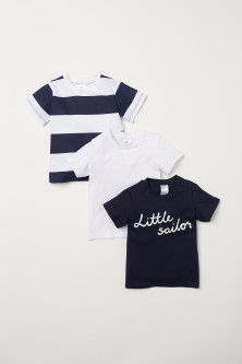 3-pack Cotton T-shirts